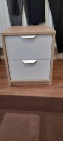 Ikea Askvoll Bedside Table