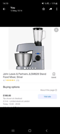 Electric mixer /blender