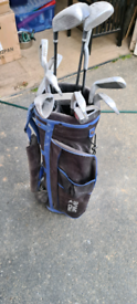 Set of Dunlop 65i golf clubs and bag for sale