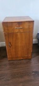 Vintage retro furniture chairs , table , dish , bedside drawer cabinet