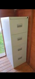 4 draw metal filing cabinet