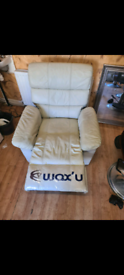 Electri Recliner Vebration Leather chairs(free delivery in Bradford)