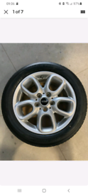 "Mini f56 f55 alloys alloy wheels 16inch Cooper s sd 16s 16"" with tyres"