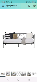 Day bed/ couch with mattress