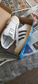 Adidas Superstar Laceless Trainers , 6
