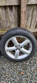 Genuine audi q5 s line wheels& tyres