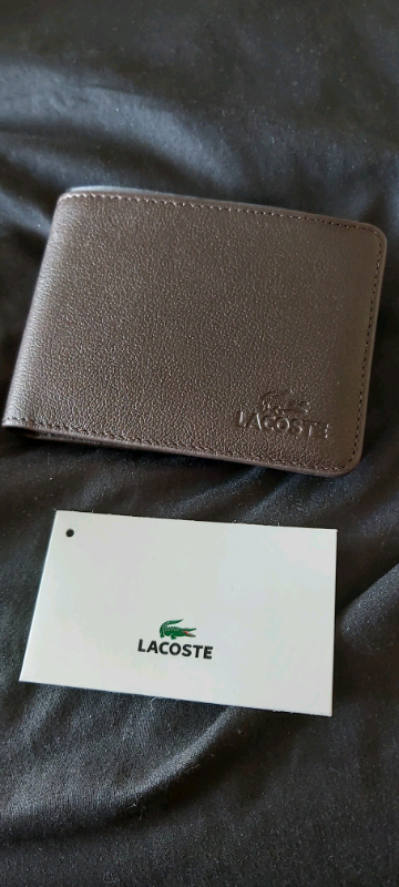 c0d83dafa9c Genuine Lacoste Mens Brown Leather Wallet | in Leicester ...