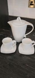 Pausa espresso coffee set for 2