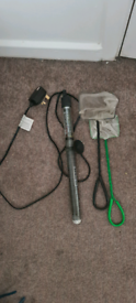 Heater air pump nets and suction pump