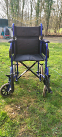 Working wheel chair