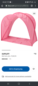 Ikea bed canopy