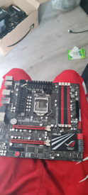 High powered Asus Motherboard