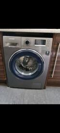 SAMSUNG - ecobubble WW90J5456FX 9 kg 1400 Spin Washing Machine