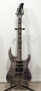 Xaviere guitar with DiMarzio pickups