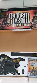 Guitar Hero III 3 legends of rock PlayStation 2 ps2