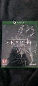 Skyrim Elder Scrolls V Xbox One Game