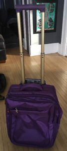 Samantha Brown carry on suitcase luggage in Purple