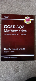 GCSE AQA maths revision guide, Higher tier