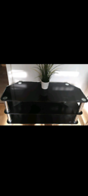 TV Black Stand Table