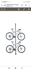 Brand new boxed Topeak Dual-touch Bike Stand
