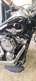 Harley Davidson Fatboy.