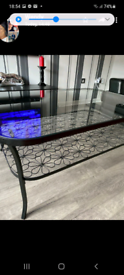 Coffee table and 2side tables