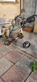 Bagboy trolley and waterproof bag