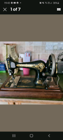 Early Vintage Singer Sewing Machine