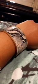 Snake Skin Bracelet Bangle