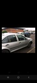 Volkswagen bora 2004 (54) 1.6s petrol breaking.