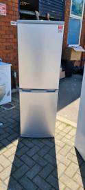 CE silver fridge freezer graded with warranty ready to go