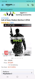 call of duty modern warfare 3 on ps3