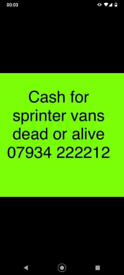 All scrap cars and vans bought for cash
