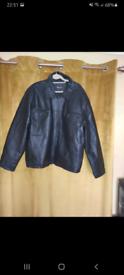 Milan Leather Mens Jacket