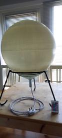 Floor globe LED multicoloured lamp