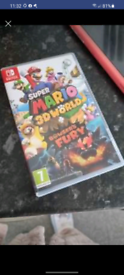 Mario 3D World switch game