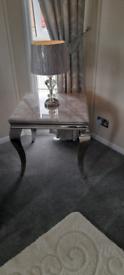 Imperial corner table grey