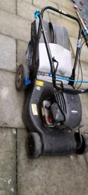 Petrol lawnmower still working