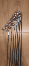 Golf clubs bag and trolly