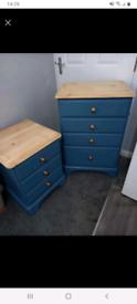 Solid pine Ducal bedroom drawers