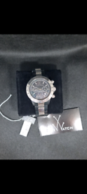 Toy Watch. Black/silver in the Box fully working.