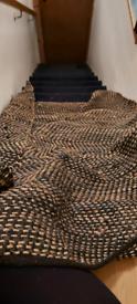 FREE Hemp and Leather Rug