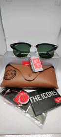 Ray-ban clubmaster sunglasses green