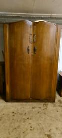 Mid 20th Century Breanse Oak Wardrobe