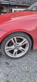 Bmw genuine sport wheels..