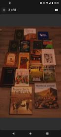 hardback adult book bundle, x16 books,