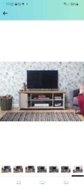 Lancaster grey TV unit
