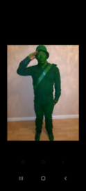 Toy Soldier costume.
