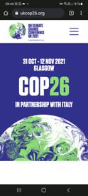 COP 26 SECURE CAR PARK SPACE