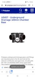 UG437 polypipe base £10.00 Each